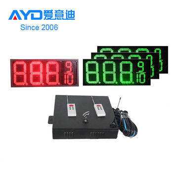 Waterproof 7 Segment Electronics LED Sign Board Price