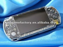 for PSP Slim XCM Face Plate Crystal Clear + Magic Night Glow Face Plate