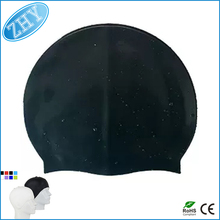 Customized Logo Available Wholesale Waterproof Silicone Swim Cap