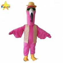 Funtoys CE Hot Promotional Flamingo Bird Mascot Costume