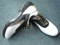 2012 New Arrival Genuine Leather Golf Men's shoes For Sale