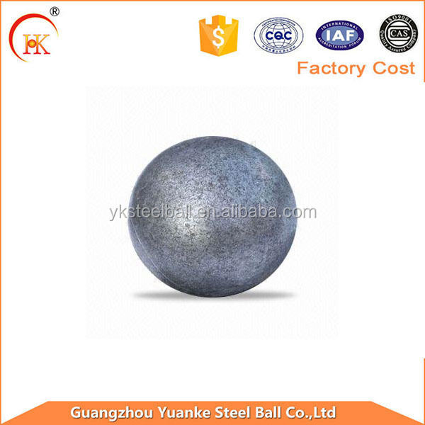 High quality 60mm steel hot rolling forged steel ball