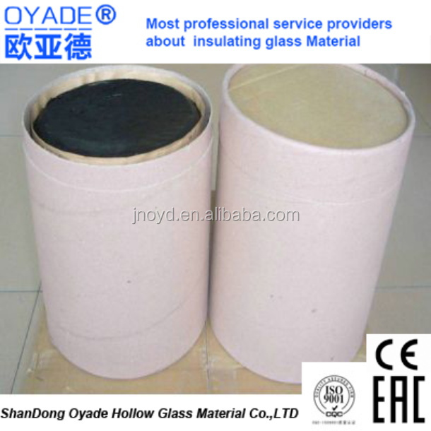 building hot melt butyl sealant rubber adhesive or Aluminum Strips for Making Double Glazed