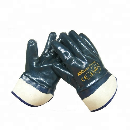 Nitrile Coating and Jersey Lining <strong>Safety</strong> Working Gloves