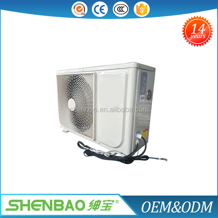60 deg c air source heat pump for hot water and house heating
