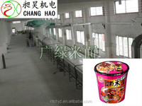 The newest thin rice noodles production line/rice vermicelli making machine