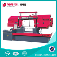 NST-110-60 Double Column Double Cylinder Horizontal Metal cutting band saw machine