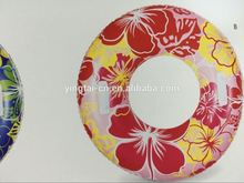 2017 hot sales new manufacturers cheap swim tube/swimming pool ring/customized colorful inflatable pool floating swim ring
