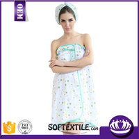 New design strapless towel dress with low price