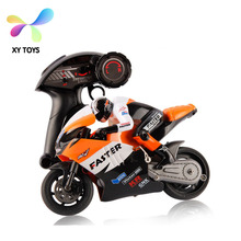 Hottest and newest moto game new design 1:16 scale 4D RC motorcycle