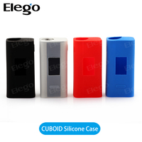 Wholesale cuboid 150w box mod silicone case/skin/sleeve/protector/wrap/decal colorful case