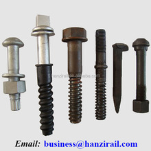 Square Head Fishtail and Joint Bar Bolts For Railway