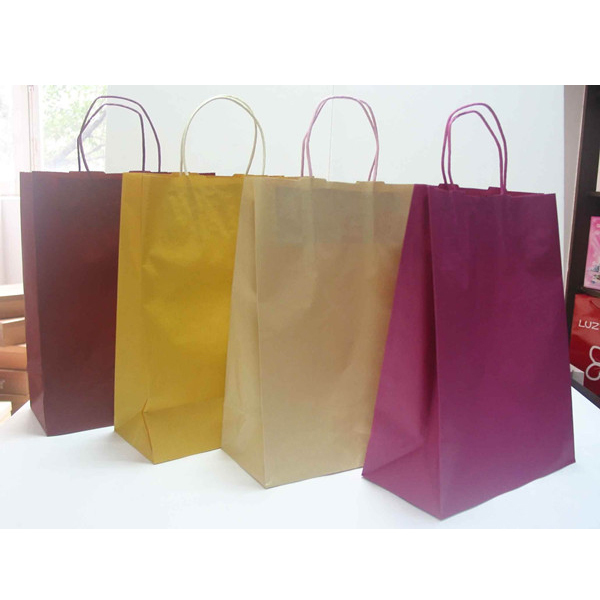 Shopping bag paper bag printing . customized logo bag printing