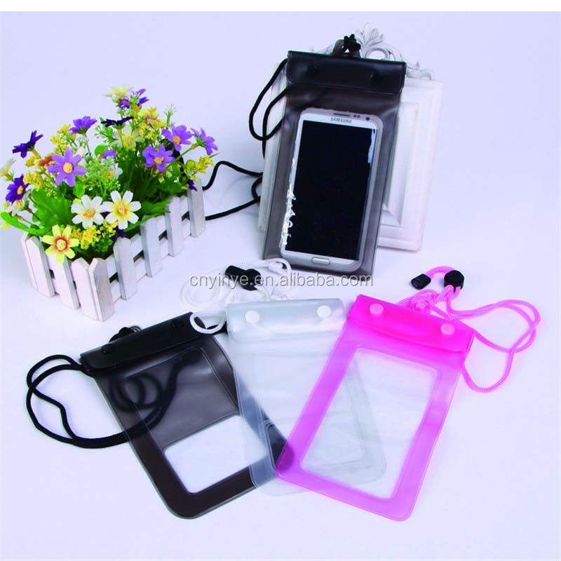 Cell Phone PVC Waterproof Bag For Apple iPhone /Galaxy /MP3