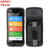 rugged android handheld 3g pda pos with barcode scanner
