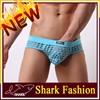 Shark Fashion translucent visible net brief hombres sin ropa interior