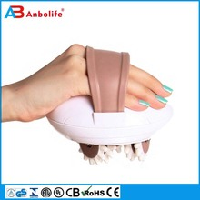 New design neck foot back vibrating relaxation massage pillow as seen on tv vibrating massager
