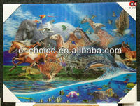 BD-18 New Fashion Home Decor 3d Pictures Natural Animation Animal