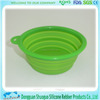 non-metal pet dog or cat Silicone bowl for 2015