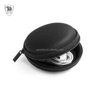 EVA Earphone Case Round Pocket Earbud Travel Carrying Case for Smartphone Bluetooth Headset Storage Bags Hard EVA Headphone Box
