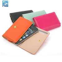 2014 Newest phone caes New style Leather Pouch Protective case purse for iphone 6 4.7 inches