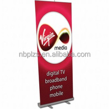 banner hanger poster rails aluminum roll up stand easy moving nice price,Aluminum Display Roll Up Banner Stand 100*200