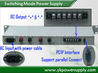 customized switching dc power source YK-AD2410 24v 10a dc power supply