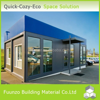 Ventilated Energy Saving Mobile Container 20ft Show Room