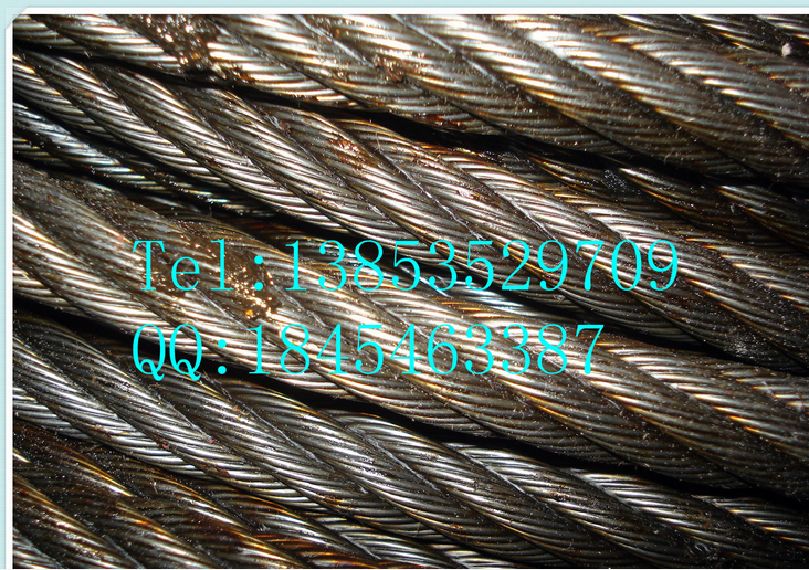 Steel Wire Rope for hoist Steel cable for tower crane
