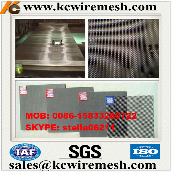 Factory!!!!!!! Kangchen Stainless Steel Wire Mesh / SS 316 L Window Screen Wire Mesh/electric mosquito net
