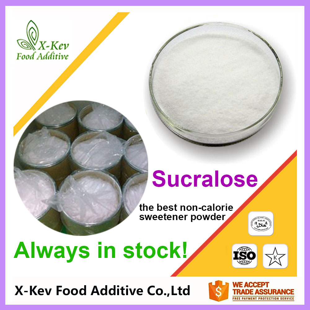 [Always in stock] bulk sucralose powder best price non-calorie sweetener