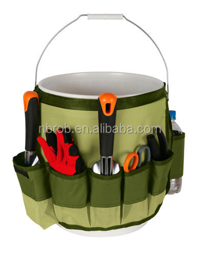 five-gallon buckets garden tool organizer bag