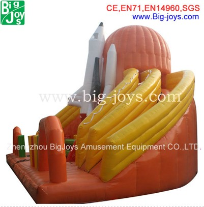 Hot Sale giant adult airplane inflatable slide made in China