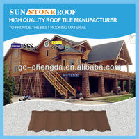 Color Aluminum Stone Steel Roof Material / Asphalt Shingle Roofing