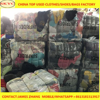 Alibaba cheaper used clothing bales 100kg for South Africa