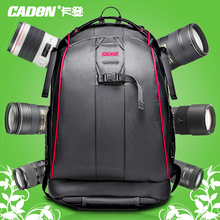 "CADEN Anti-theft Waterproof Nylon Camera Backpack 14"" Computer Laptop Traveling Bag for DSLR backpack camera bag for canon"