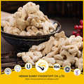Air dried split ginger natural ingredients yellow color