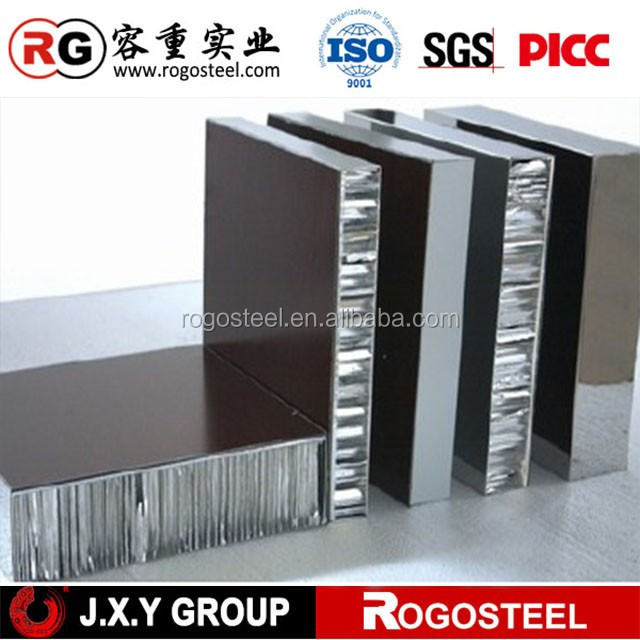 Honeycomb Core Foil Thickness 0.08mm hospital interior building finishing materials for door