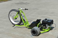 off road motorized drift trike 208cc