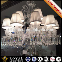 Customize Large luxury crystal hotel chandeliers for sale