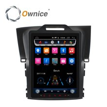 Ownice 10.4'' vertical screen car dvd multimedia for honda CRV 2012 2013 2014 2015 2016 with MT3562 Octa Core