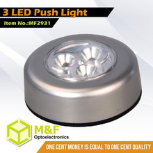 Night Light Led 3 LED Night Mini Led Push Light Led Working Light