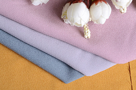 Chinese supplier fashion stretch polyester fabric for dressing/blouse