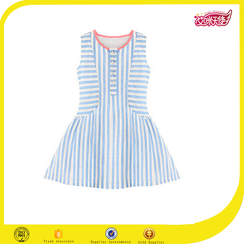 High quality Japan school jumpers,american style school uniofrm stripe dress