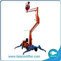 beacon hot sale aerial articulated boom lift truck mounted man lift