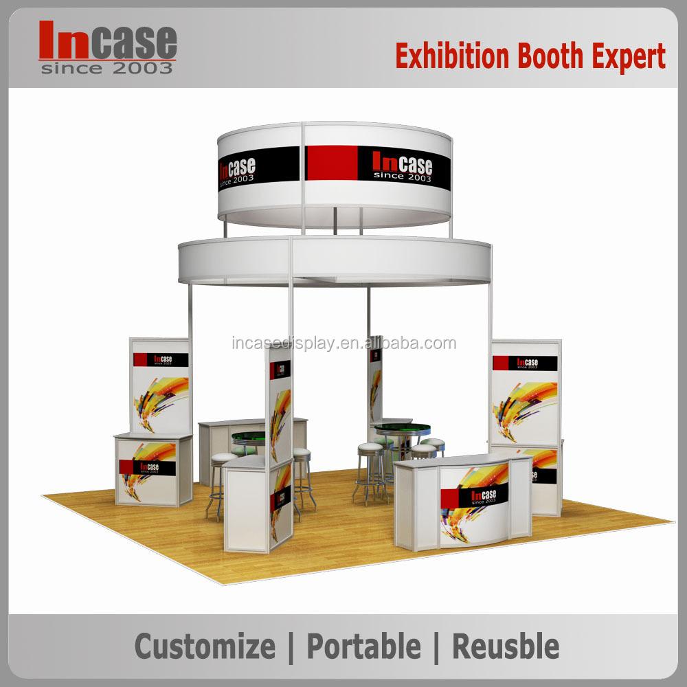 island trade show exhibition booth design ideas - Trade Show Booth Design Ideas