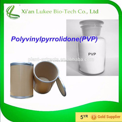 Food and beverage additive crospovidone/ pvpp CAS 9003-93-8 cross povidone r for beverage and brewing