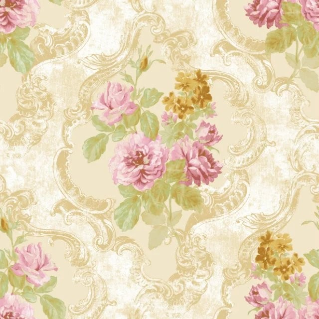 nature paper american styles flowers hot sale 3D wallpaper for home decoration wallpaper