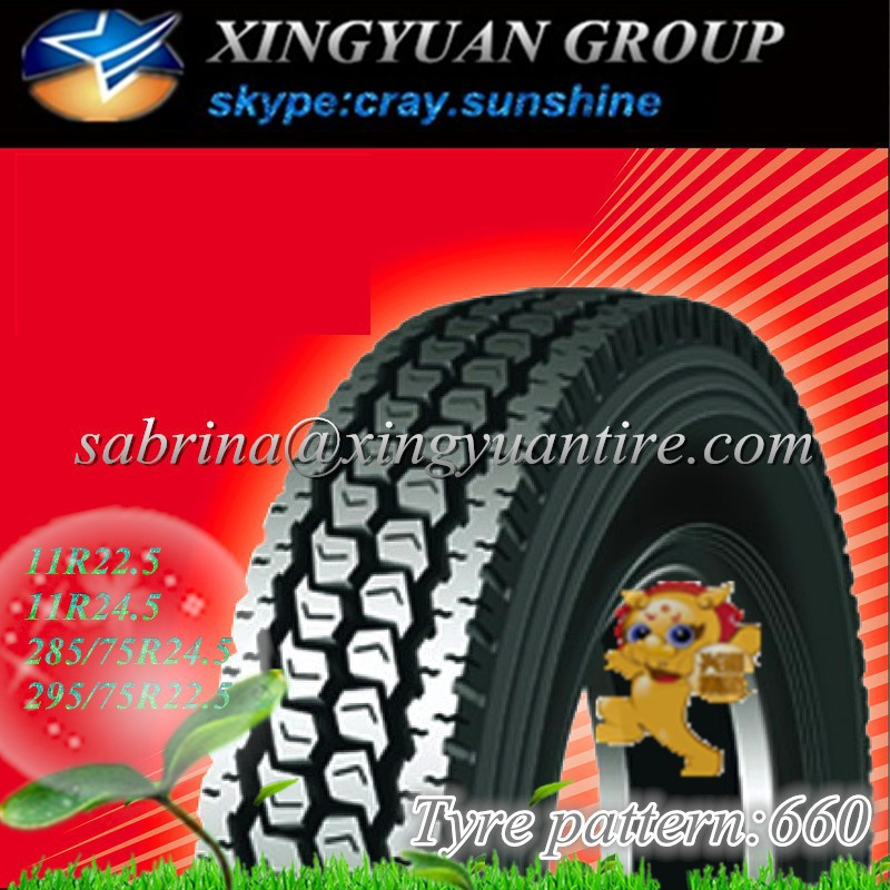 wholesale of part worn tyres 295/75r22.5 annaite brand