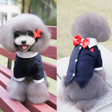 Direct factory fashion design pet wedding or evening dress 2016 dogs summer dresses